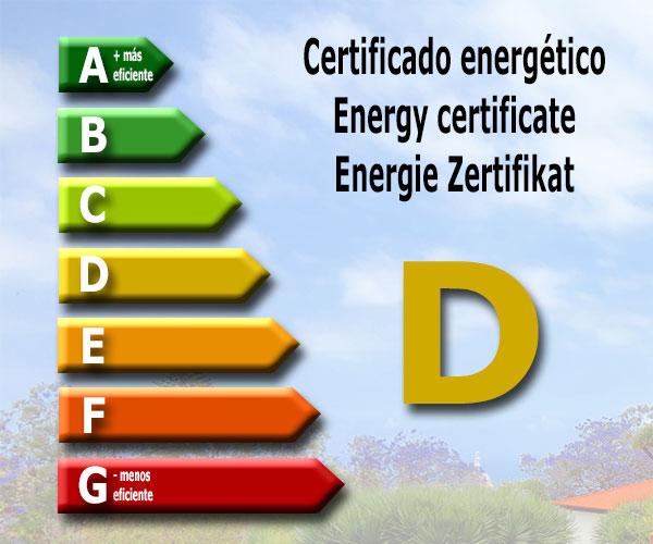 Energy certificate: D