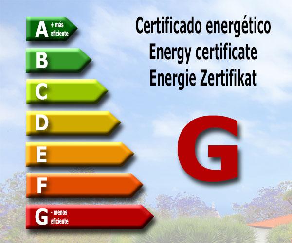 Energy certificate: G