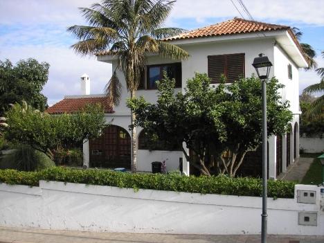 Sonniges Haus mit Garten und Blick in La Orotava.