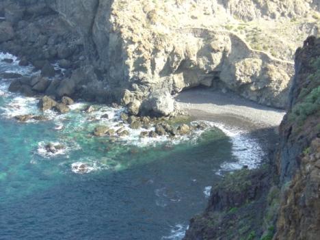 VERKAUFT Finca in La Guancha beim Strand.