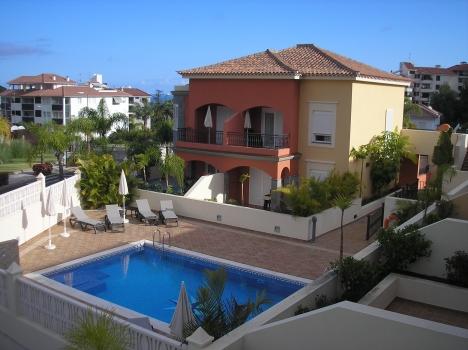 Erste Qualität Appartement mit beheizter Pool.   Immobilie zur Miete - kanarenmakler