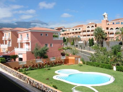 Wohnung mit Terrasse & Pool in La Paz.
