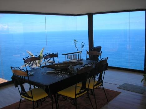 Schönes Haus mit herrlichem Blick auf das Meer, den Berg Teide und Nordküste.