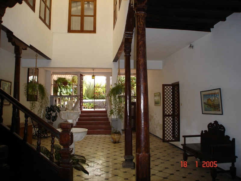 Antiques Herrenhaus in Orotava