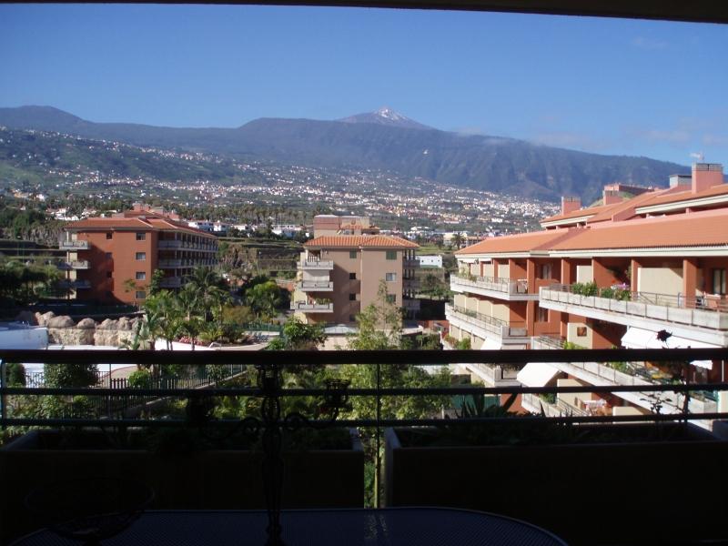 Huebsche Wohnung mit grosser Terrasse und Panoramablick auf  den Teide.