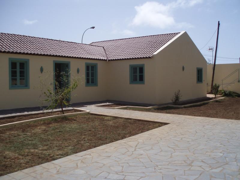 Altkanarisches Haus mit Garten.