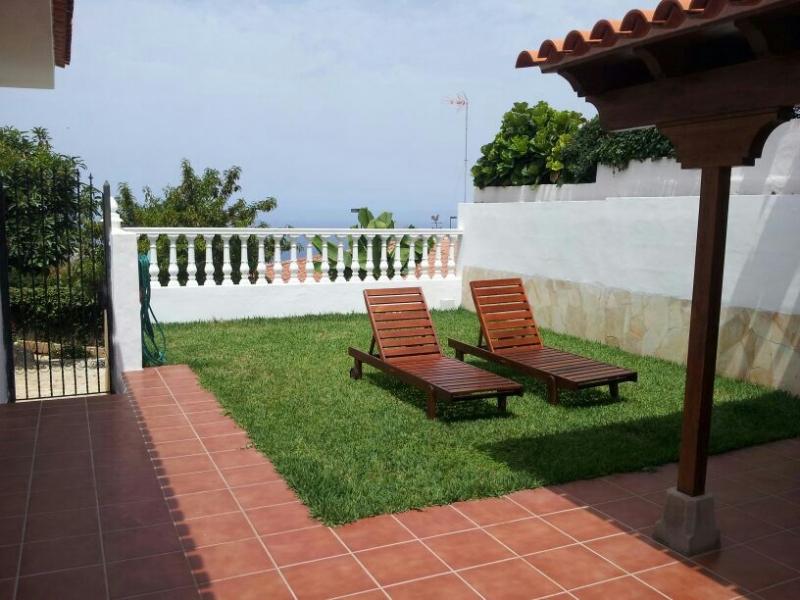 Haus mit Garten  im sonnigen El Sauzal.