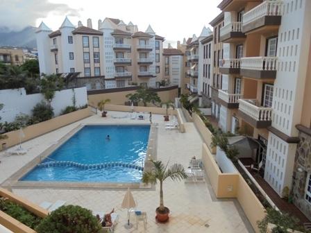 Sonnige Wohnung mit Pool in Puerto de la Cruz.