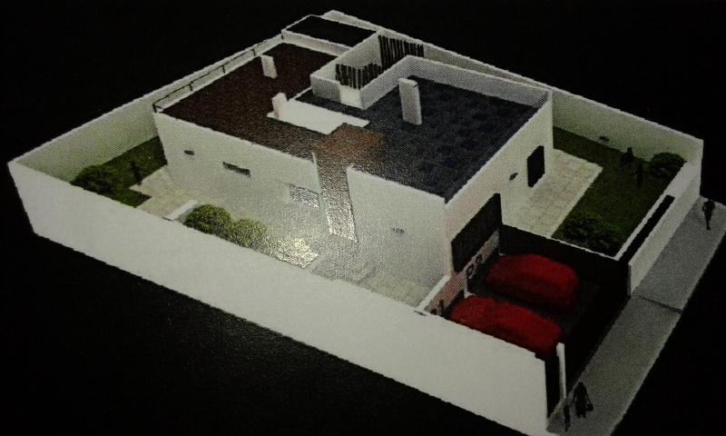 Chalet auf einer Etage mit Dachterrasse in der Nähe der Küste mit Blick auf das Meer! Auf Anfrage Gebaut!