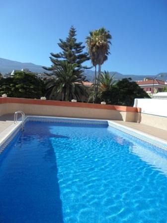 Renoviertes Studio mit Pool im Zentrum von Puerto de la Cruz.