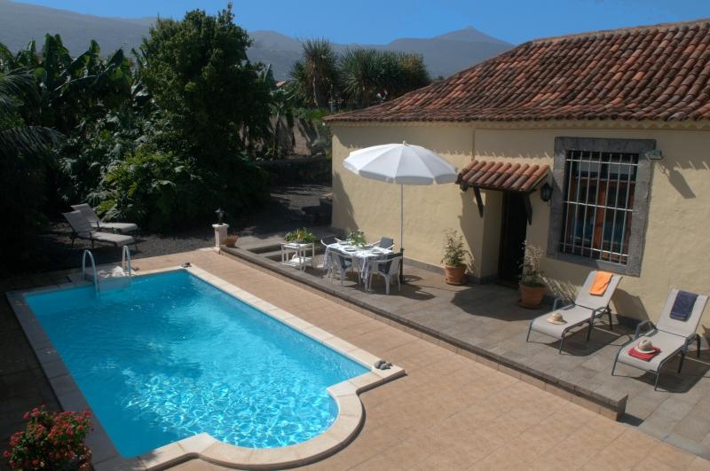 Schönes Haus mit privatem Pool, ruhig, sonnig, Immobilie zur Miete - Paluum