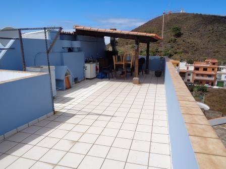 Kanarischen Haus mit Dachterrasse, Blick, sonne...!